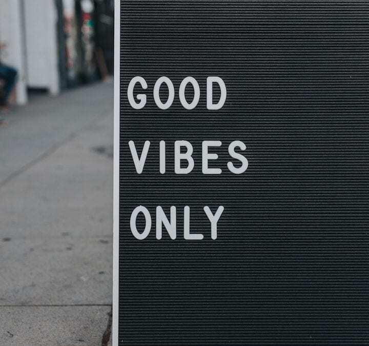 solo buone vibrazioni