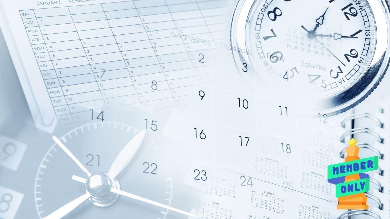 1 come gestire ed organizzare il proprio tempo