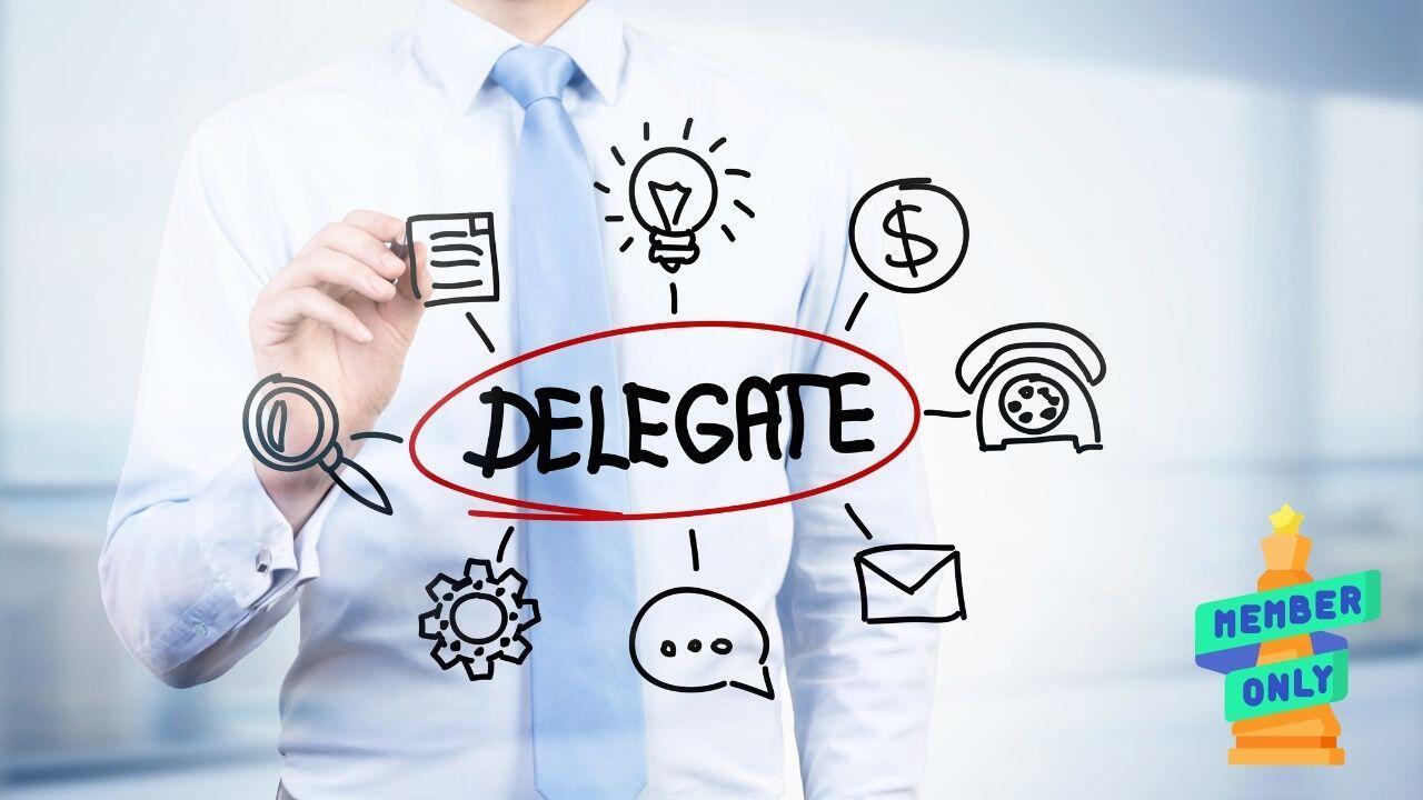 Saper delegare per migliorare l'organizzazione aziendale