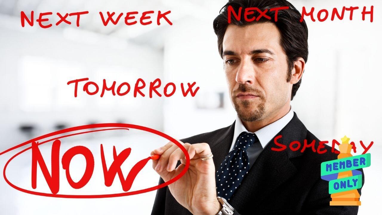 Procrastinare- puoi smettere con queste strategie