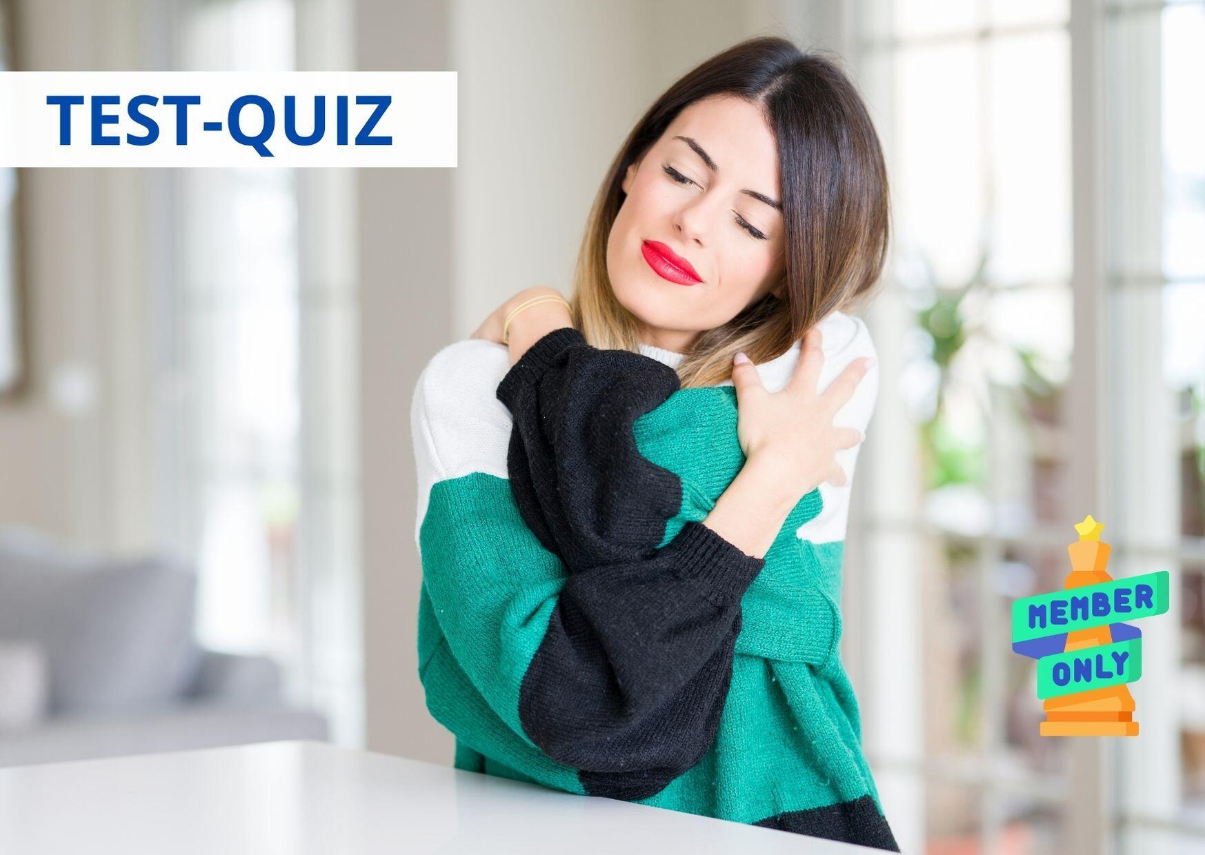 QUIZ Auto-aiuto- quanto ti vuoi bene (self-care test)