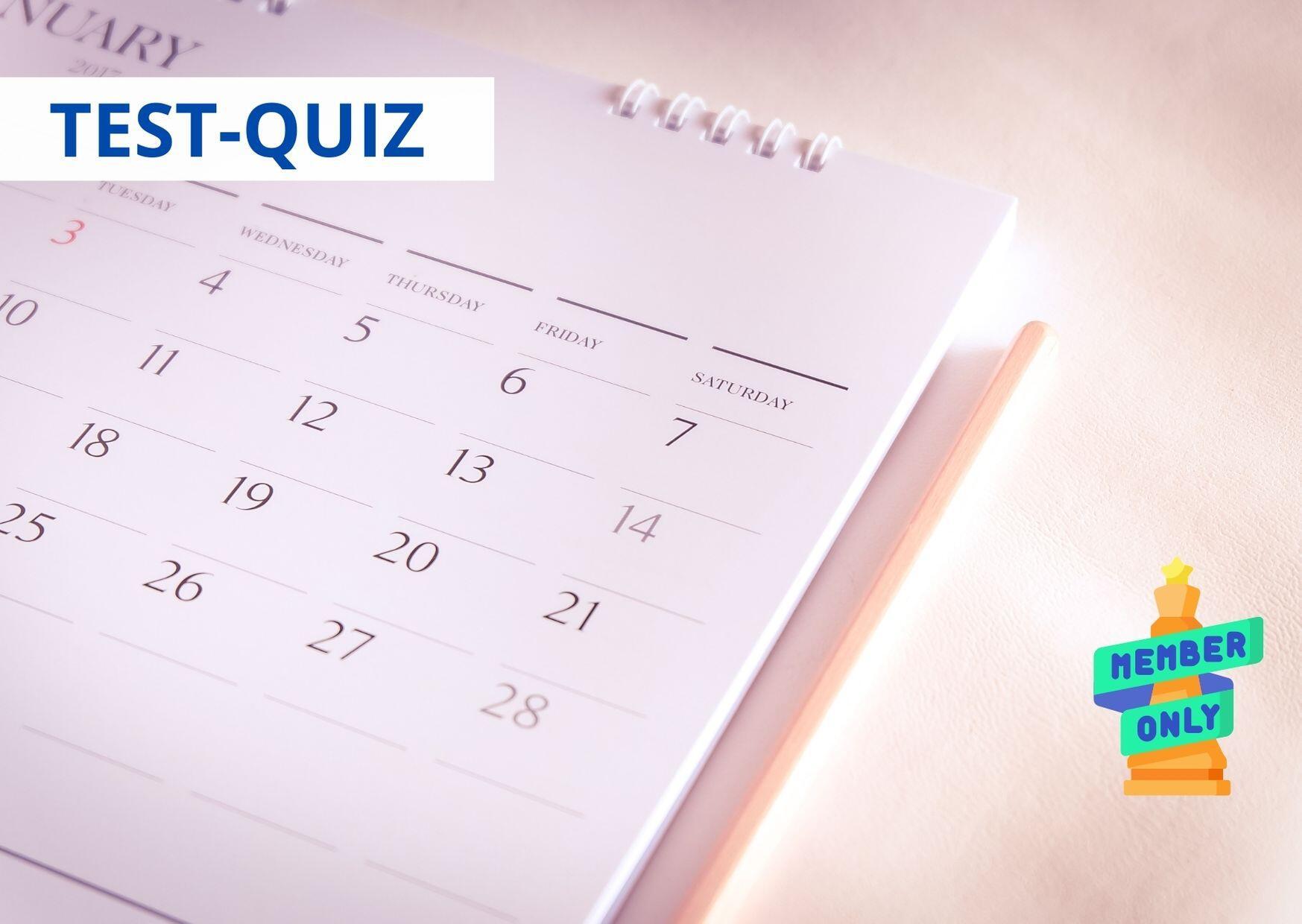 QUIZ Quanto sei abile a pianificare?