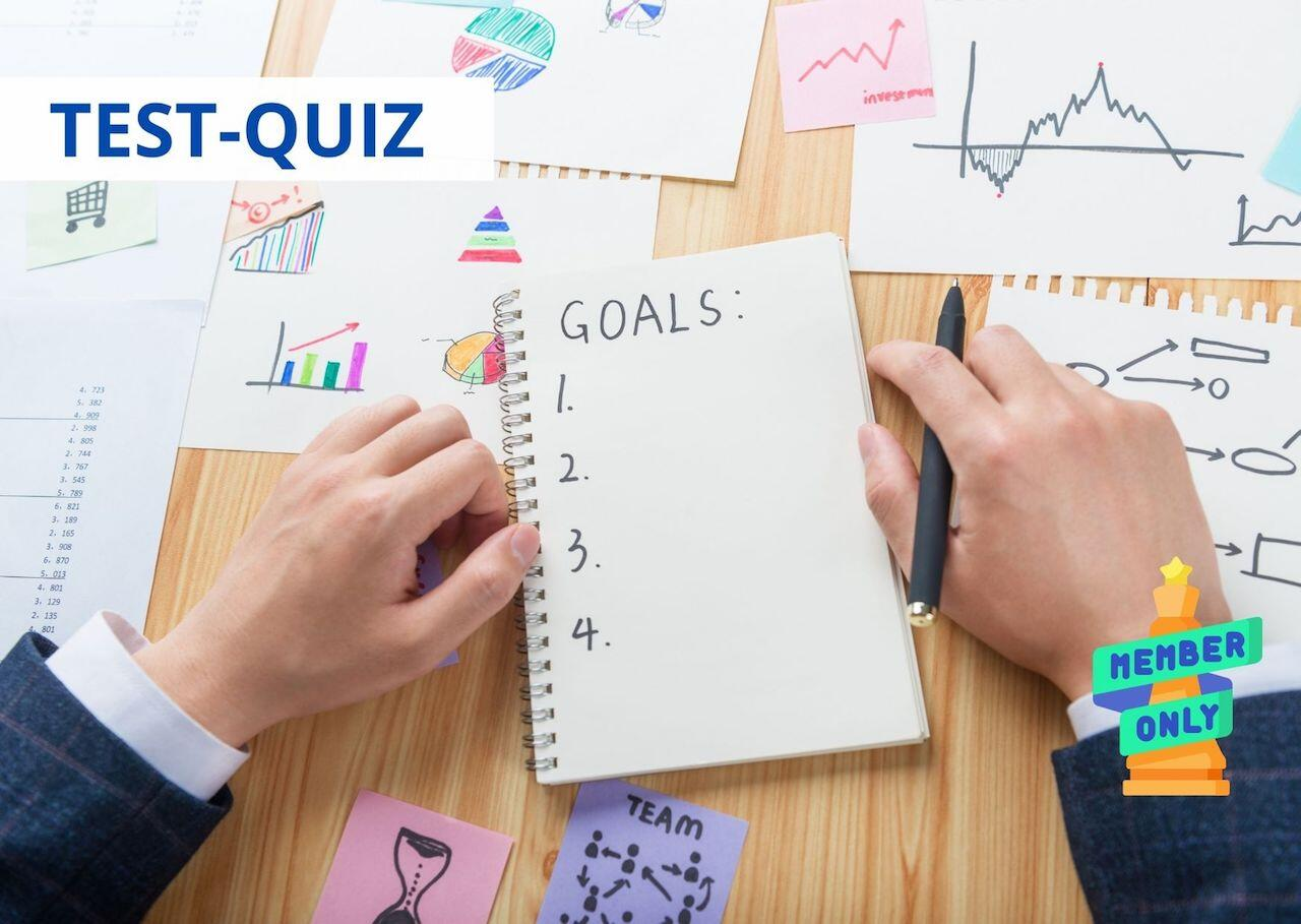 Quiz - Quanto sei bravo a definire gli obiettivi?