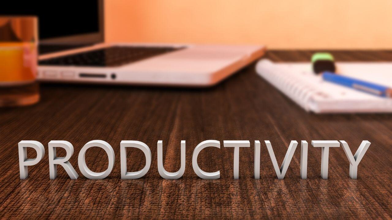 Produttività del lavoro - più risultati in meno tempo